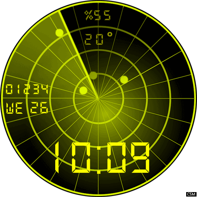 Radar 2 Android Watch Face