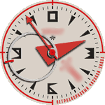 Raketa 3v Watch Face