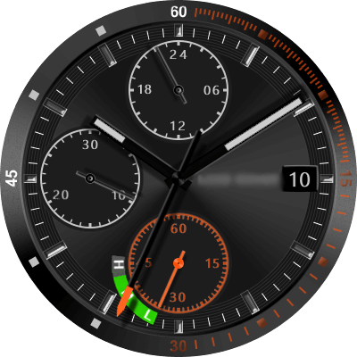 Rover (Land Rover) Android Watch Face