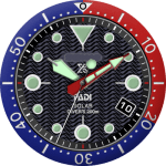 Seiko Padi Solar Watch Face