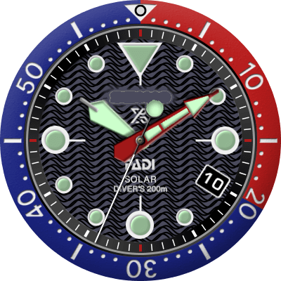 Seiko Padi Solar Android Watch Face