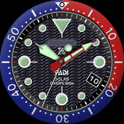 Seiko Padi Solar Android Watch Face
