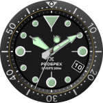 Seiko Prospex Watch Face