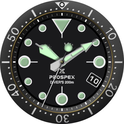 Seiko Prospex Android Watch Face