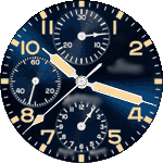 Sinn 02v Watch Face