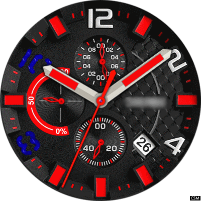 Skmei 31a Android Watch Face