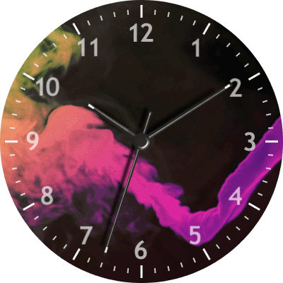 Smoke Android Watch Face