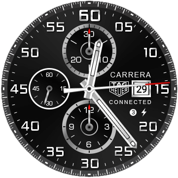 Tag Heuer Android Watch Face