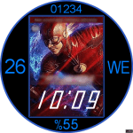 The Flash Watch Face