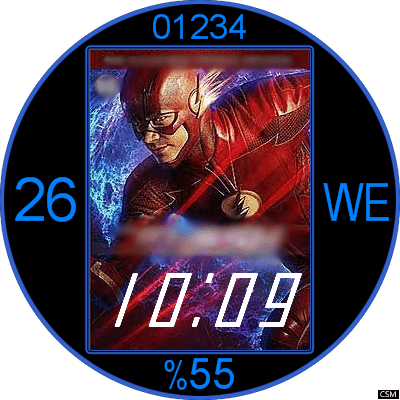 The Flash Android Watch Face