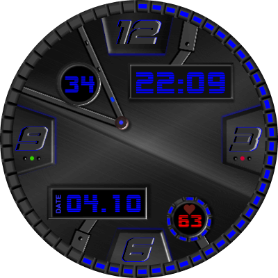 Time Gate Android Watch Face