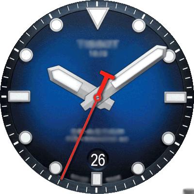 Tissot 02a Android Watch Face