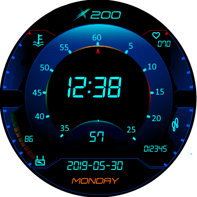 UI 2 v Eng Android Watch Face