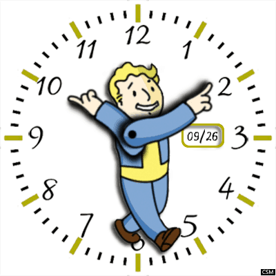 Vault Boy Android Watch Face