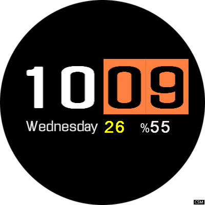 VM 10A Android Watch Face