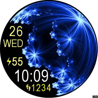 VM 175a Android Watch Face