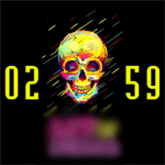 VM 334 (SKULL) Watch Face