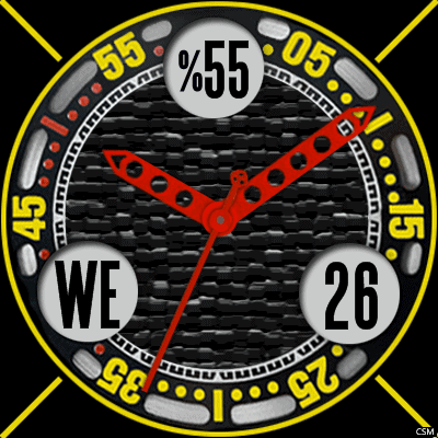 VM 465 A Android Watch Face