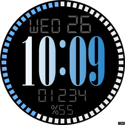 VM 471 A Android Watch Face