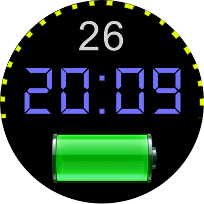 VM 58a Android Watch Face