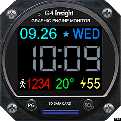 VM 611 A Android Watch Face