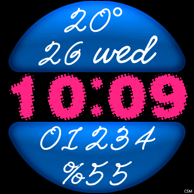 VM 625 A Android Watch Face