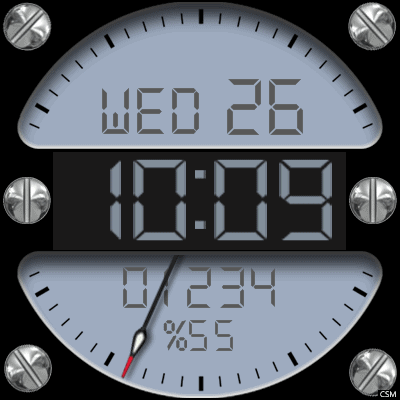 VM 626 A Android Watch Face