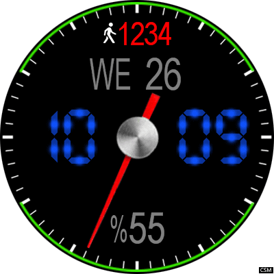 VM 636 A Android Watch Face