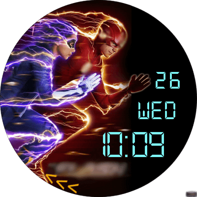 VM 76a (The Flash) Android Watch Face