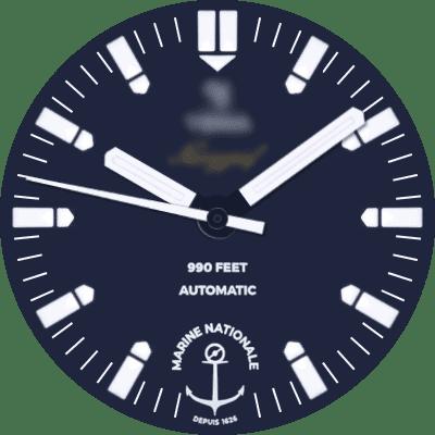 Yema Navygraf Marine Nationale Android Watch Face