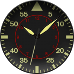 American Aviator Watch Face
