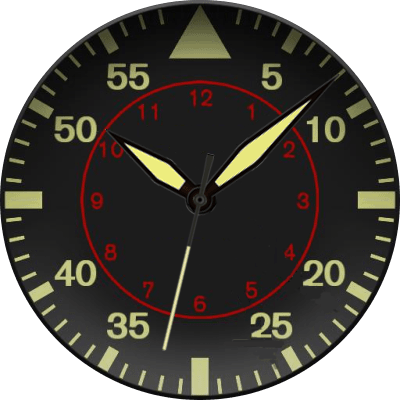 American Aviator Android Watch Face