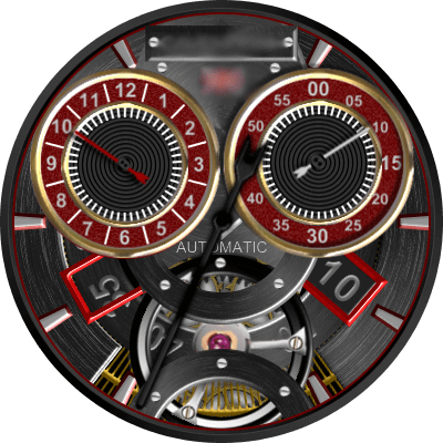 Cavendish Modern Android Watch Face