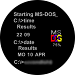cavendish MS Dos 1981 2000 Watch Face