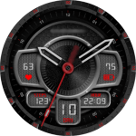 Cavendish Red Trooper Watch Face