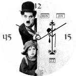 Charlie Chaplin Watch Face