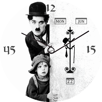 Charlie Chaplin Android Watch Face