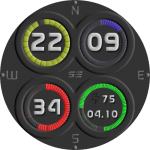 Dark Fluu Watch Face