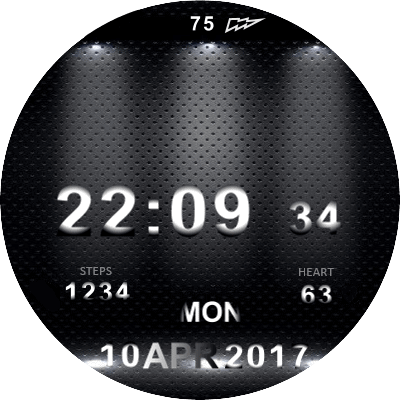 Dark Shadow Android Watch Face