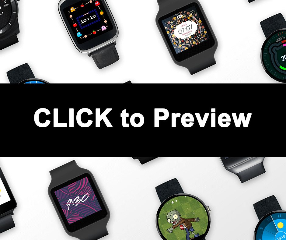 Download Best VXP Watch Faces for MTK Smartwatch