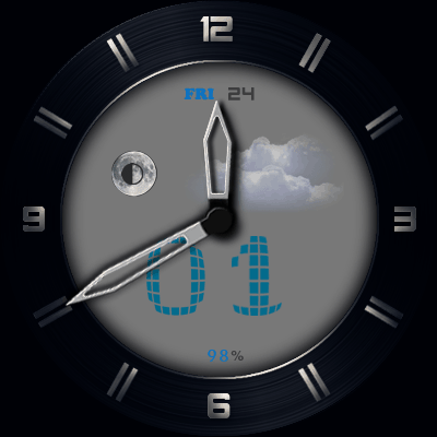 Fossil Android Watch Face