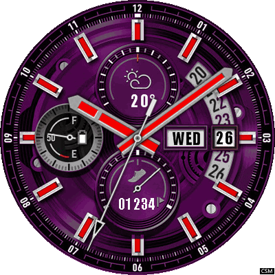 Gplus a 2 Android Watch Face