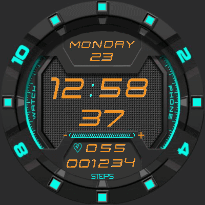 Hunt Eng Android Watch Face