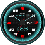 Iris blur Watch Face