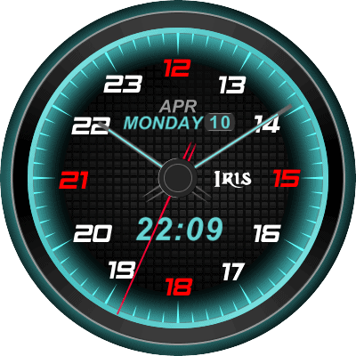 Iris blur Android Watch Face
