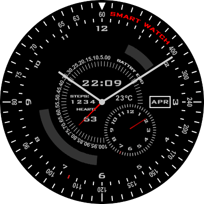 S M Android Watch Face