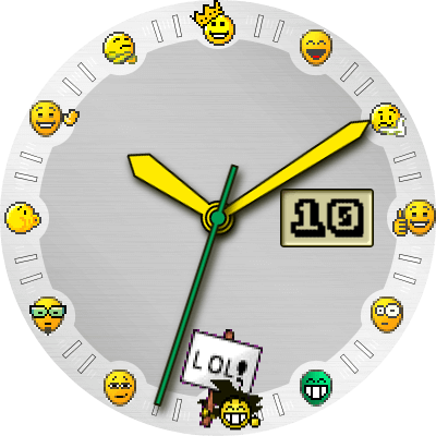 Smiley Android Watch Face