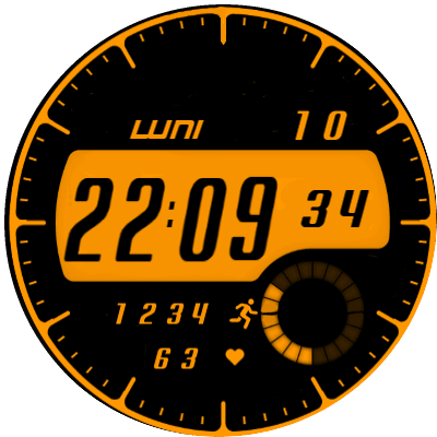 Taxi v Eng Android Watch Face