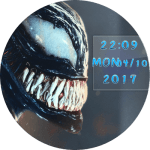 Venom 1 Watch Face