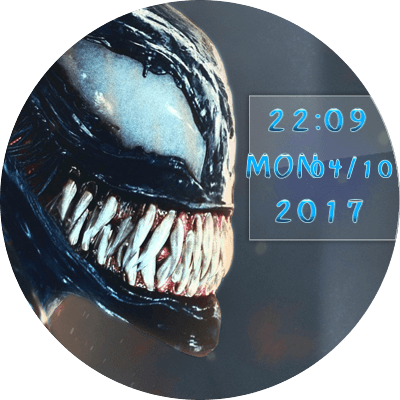 Venom 1 Android Watch Face